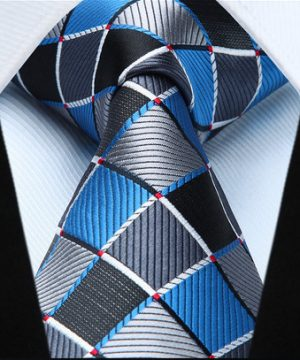 Elegantná pánska sada - kravata + vreckovka - č.6