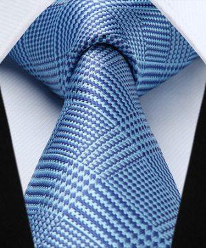 Elegantná pánska sada - kravata + vreckovka - č.7