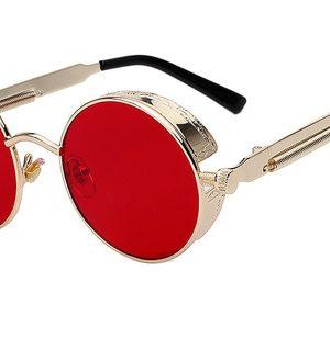 Univerzálne štýlové okuliare Steampunk v rôznych farebných prevedeniach
