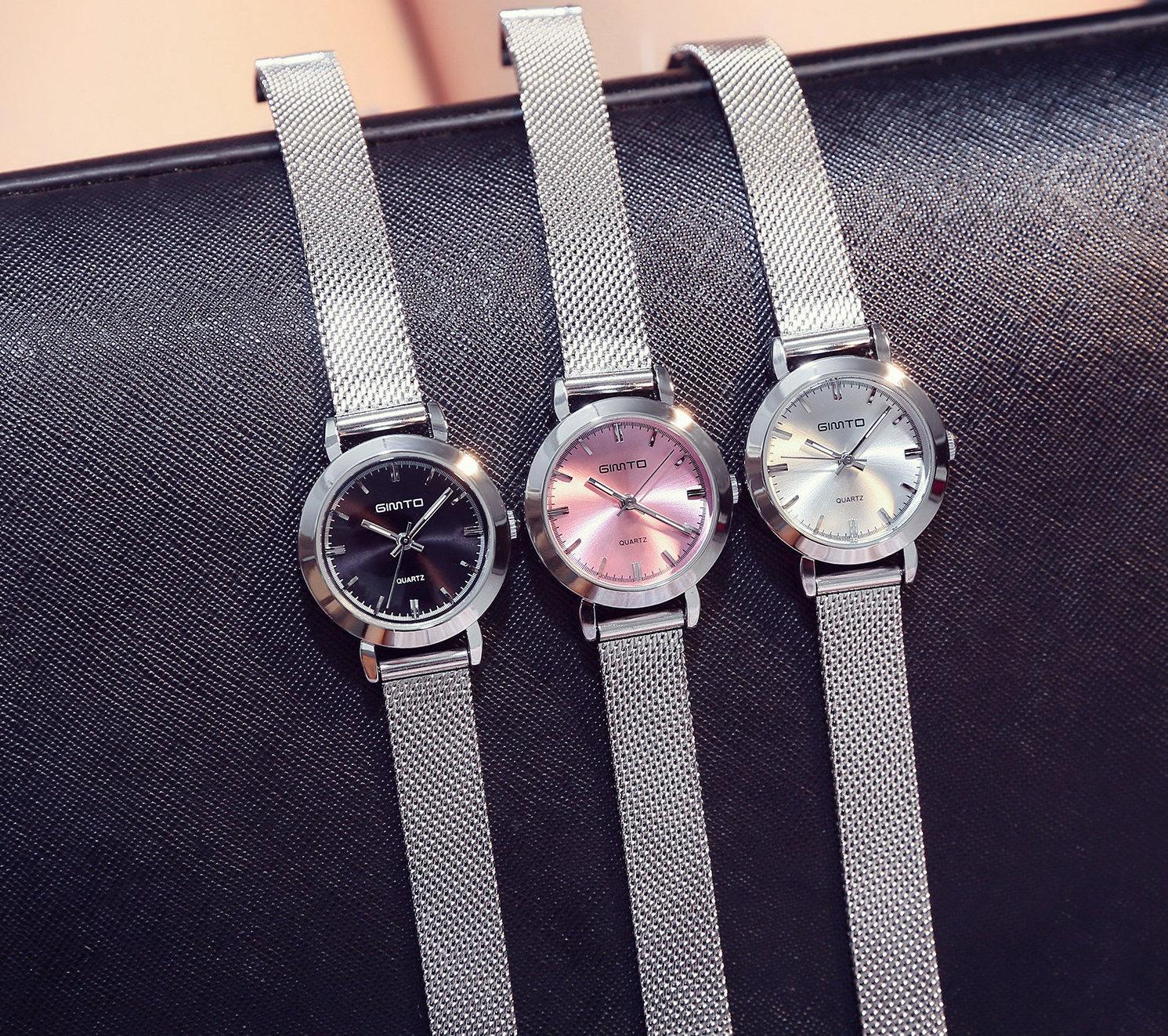 faa58921b Elegantné dámske hodinky v troch rôznych farebných prevedeniach ...