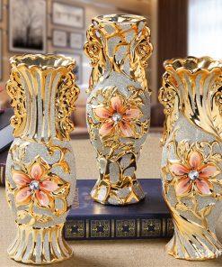 Luxusná vintage porcelánová kvetinová váza v troch rôznych variantoch, veľká