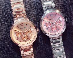 Luxusné dámske hodinky v dvoch rôznych farebných prevedeniach 40cc0dfd572