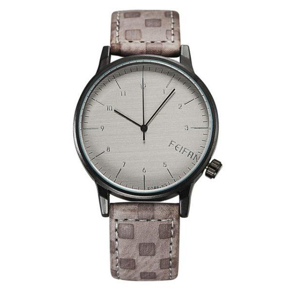 Luxusné pánske hodinky v sivom prevedení