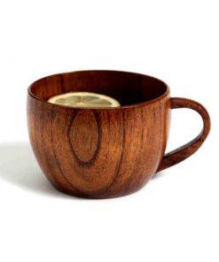 Luxusný retro hrnček z dreva