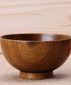 Moderná štýlová miska z bambusu