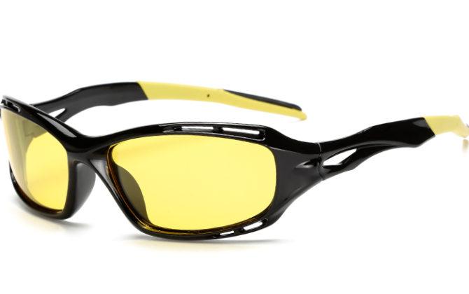 Športové polarizované okuliare pre šoférov na nočnú jazdu