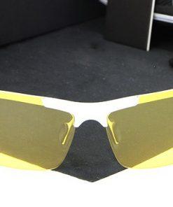 Štýlové nočné polarizované okuliare pre šoférov