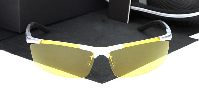 Štýlové nočné polarizované okuliare pre šoférov  23e6df72804