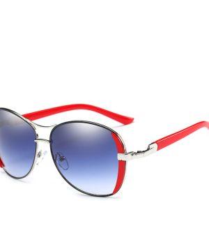 Štýlové oválne slnečné okuliare v troch rôznych farbách