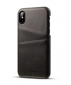Kryt na kreditnú alebo debetnú kartu AOKIN pre iPhone X v rôznych farbách