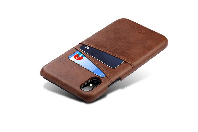 Kryt na kreditnú alebo debetnú kartu AOKIN pre iPhone X v rôznych ... 0c7b6d63611