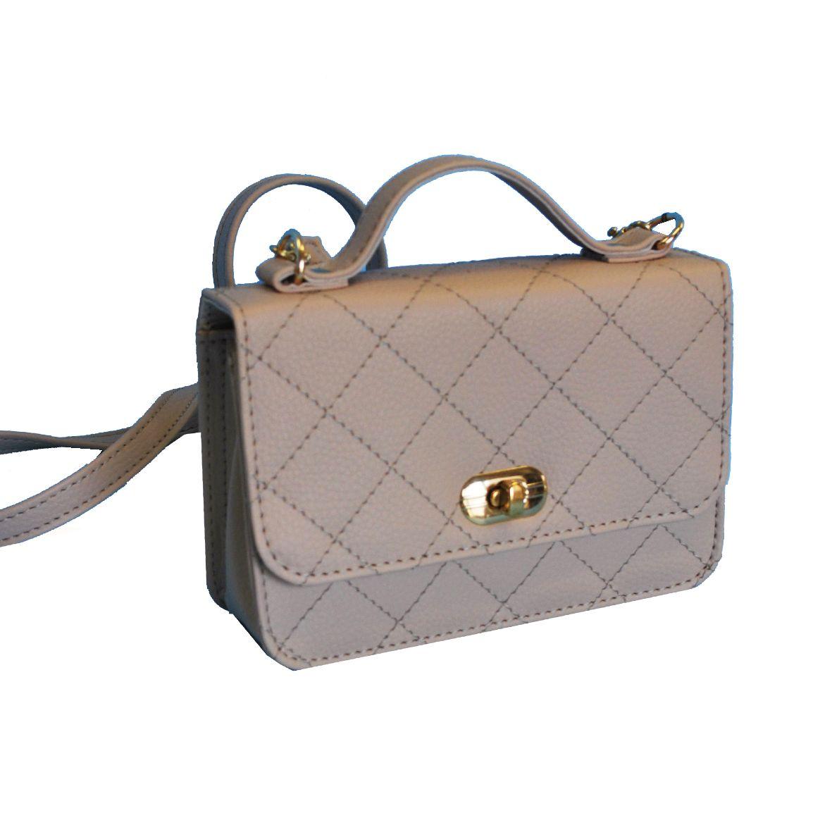Luxusná dámska kabelka crossbody 8679 vo svetlo béžovej farbe ... 27f8f08a82d