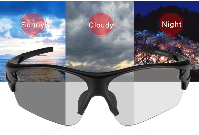 Fotochromatické polarizované slnečné športové okuliare v rôznych ... b7bc2bae247