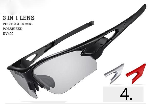Fotochromatické polarizované slnečné športové okuliare v rôznych ... 47230bddfdd