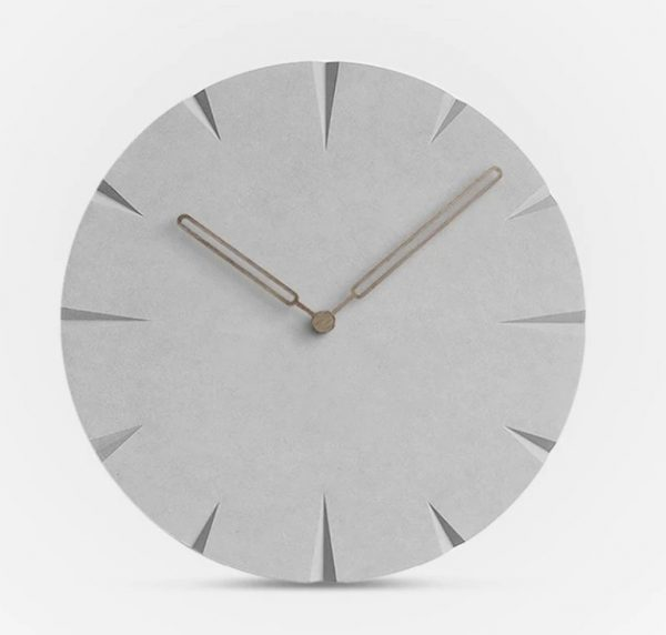 Luxusné drevené nástenné hodiny Wia