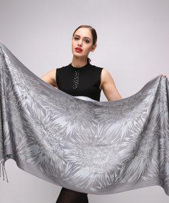 Luxusný dámsky bavlnený šál, 180 cm x 70 cm