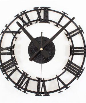 Retro priemyselné nástenné hodiny