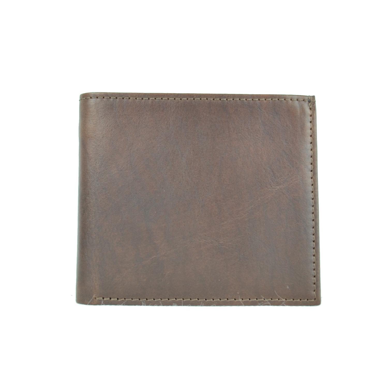 cf83b6ee72 Luxusná peňaženka z pravej kože č.7942 v tmavo hnedej farbe ...