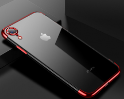 Červený tenký obal na iPhone XS a27d5c30982