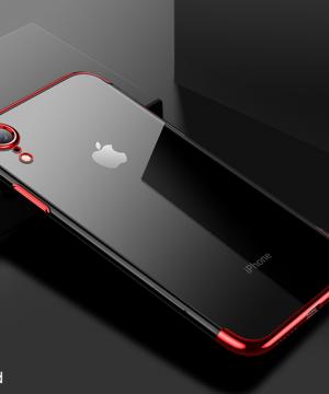Červený tenký obal na iPhone XS, iPhone XR a iPhone XS MAX