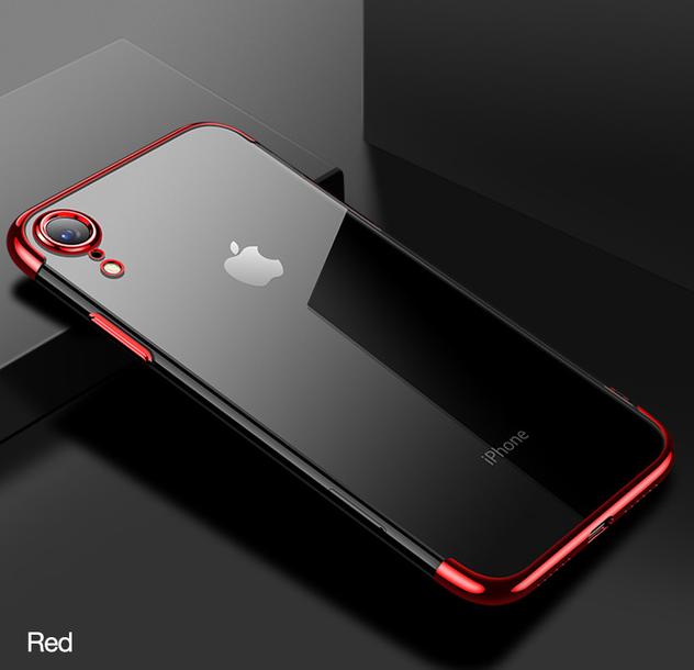Červený tenký obal na iPhone XS 068ac7217f0