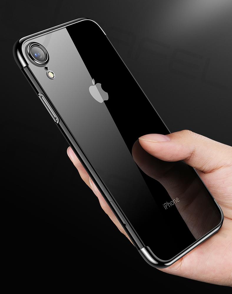 Červený tenký obal na iPhone XS 8b20d4d576a