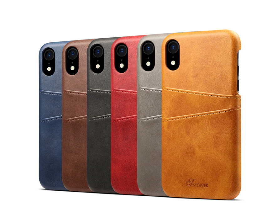 Žltý kožený kryt na iPhone XS, iPhone XR a iPhone XS MAX