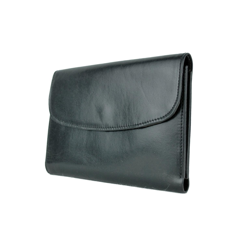 Luxusná kožená dámska peňaženka č.8465 v čiernej farbe  a9fcb281bb8