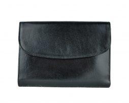 Luxusná kožená dámska peňaženka č.8465 v čiernej farbe c428a0536db