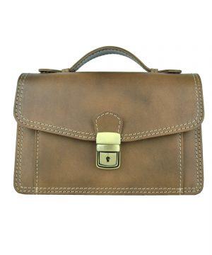 dfa1ad349 Luxusná kožená etuja, viacúčelové púzdro, ručne tamponovaná, svetlo hnedá  (3)