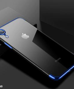 Modrý tenký obal na iPhone XS, iPhone XR a iPhone XS MAX