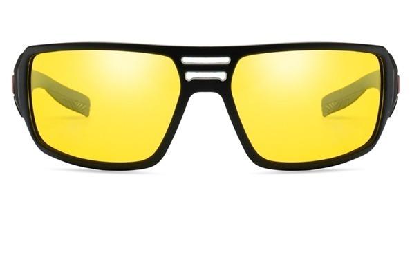 Štýlové polarizované okuliare na jazdu v noci, v daždi a v hmle