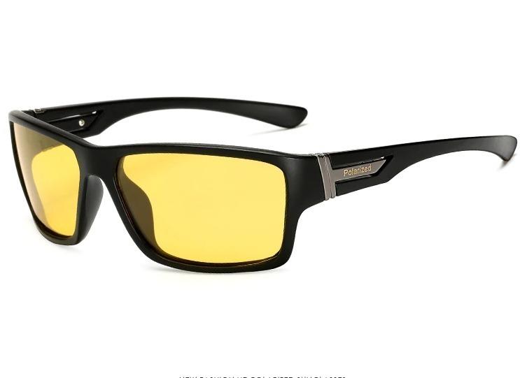 Štýlové polarizované okuliare na nočnú a do hmly  2405dcd41d3