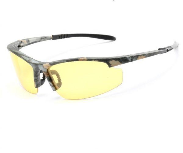 Štýlové polarizované okuliare na pre šoférov do noci, dažďa a hmly