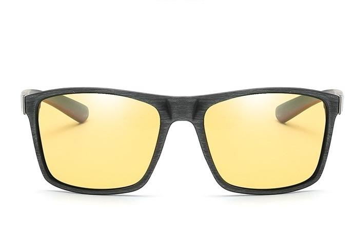 Štýlové polarizované okuliare pre šoféra na noc a do hmly  b87fbfe8353