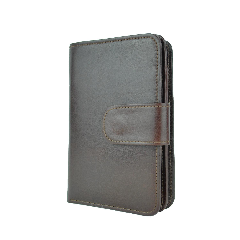 Dámska praktická kožená peňaženka č.8503 v hnedej farbe  04660562b13