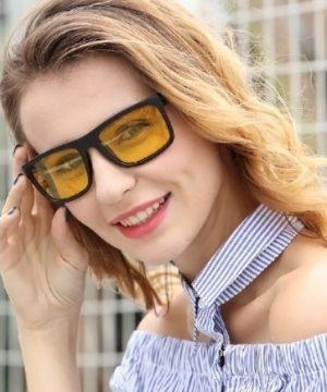 Luxusné polarizované okuliare pre šoférov do nepriaznivého počasia