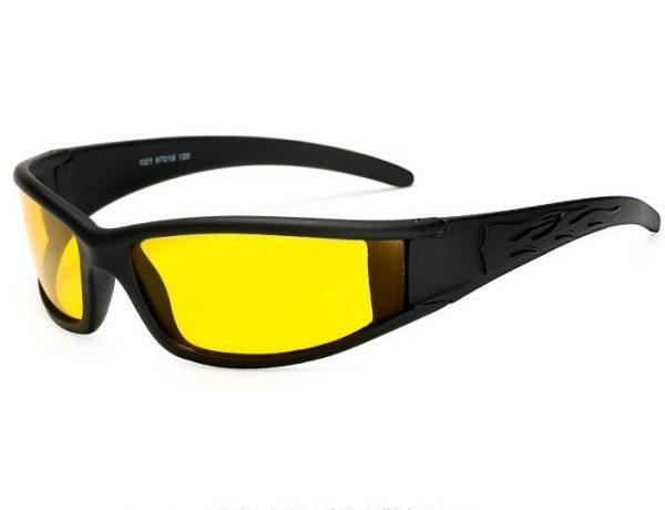 Moderné polarizované okuliare pre šoférov do tmy, hmly a dažďa