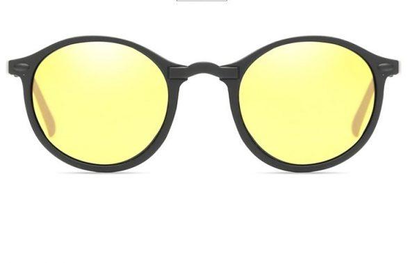 Retro polarizované okuliare na šoférovanie do noci a do hmly