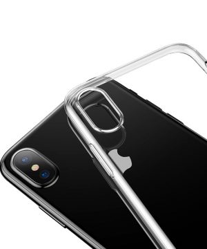 Transparentný silikónový obal na iPhone XS, iPhone XR a iPhone XS MAX (4)