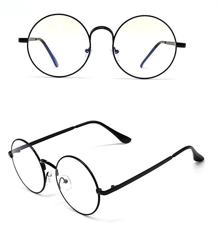 366e91973 Kvalitné retro okuliare na prácu s počítačom s čiernym rámikom ...