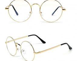 ... Kvalitné retro okuliare na prácu s počítačom so zlatým rámikom 258333da547