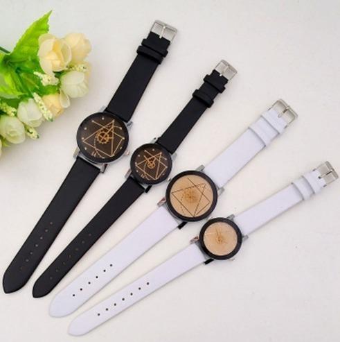 9f929a284 Moderné geometrické dámske a pánske hodinky · Luxusné a módne šperky ...