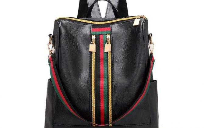 Luxusný-ruksak-s-mnohými-vreckami-v-retro-dizajne-v-čiernej-farbe-1