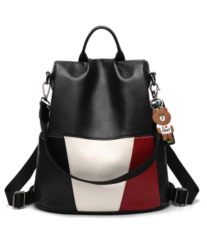 Ruksak-s-možnosťou-využitia-ako-tašky-s-macíkom-v-čiernej-farbe-2