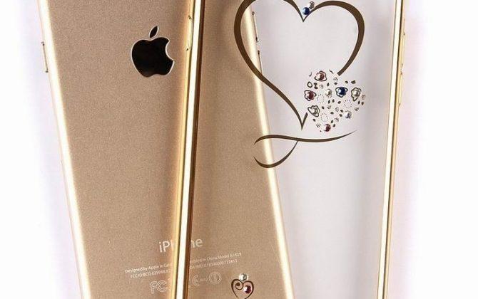Silikónový obal srdce so šperkom na iPhone X Xs Xs Max Xr