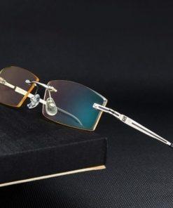 Štýlové okuliare bez rámika na prácu s PC aj nočnú jazdu