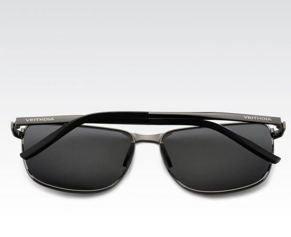 Luxusné pánske polarizované slnečné okuliare so sivým rámikom