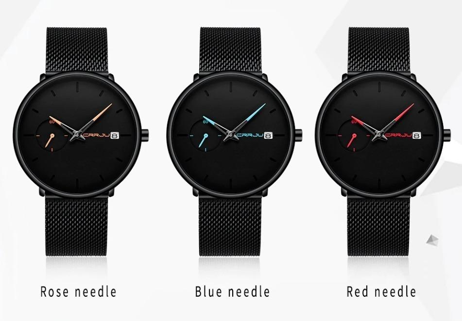 61321a5f8 Štýlové analógové pánske hodinky v niekoľkých prevedeniach · Luxusné ...