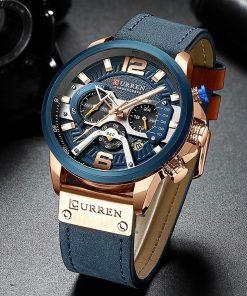 Kvalitné analógové pánske hodinky v dvoch farbách